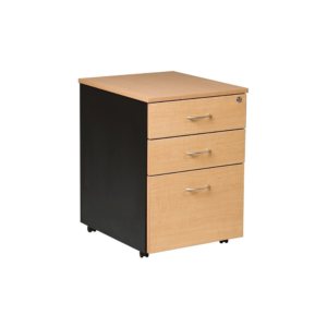 Alpha Mobile Pedestal 2 Pen and 1 File Drawer