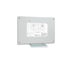 magnetic glass whiteboard