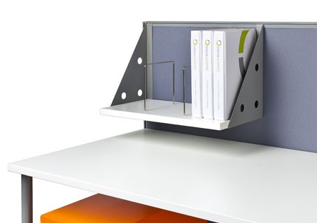 Prestio shelf with dividers