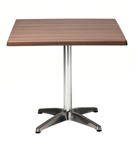 rux cafe table square