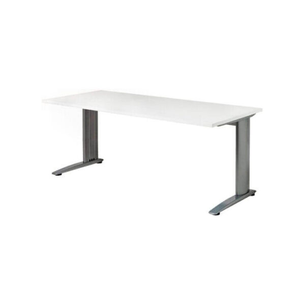 stockholm office desk silver