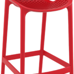 air cafe stool red