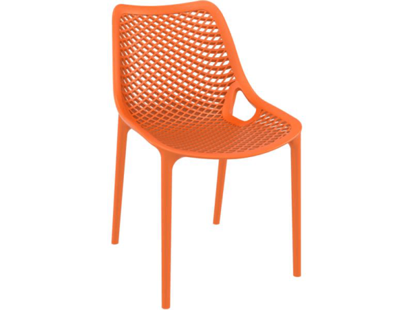 air chair orange