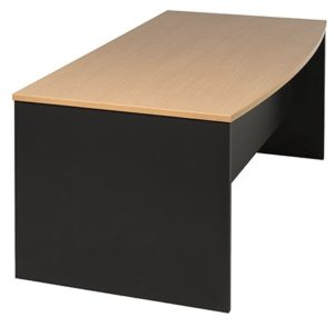 Desk - Bow front