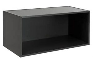 alpha wall mounted shelf single