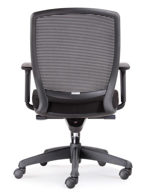 hartley task mesh chair back view
