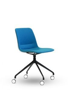Unica Office Chair Swivel Base - Upholstered