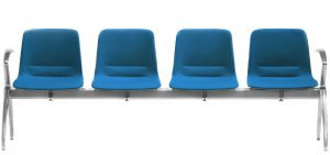 Unica Beam 4 Seat arms each end