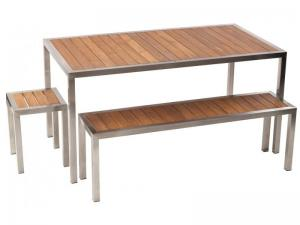 carlie table & bench