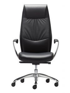 altitude high back chair- front view