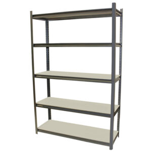 Stallion+Shelving+1800Hx1200Wx400D+with+5+Shelves
