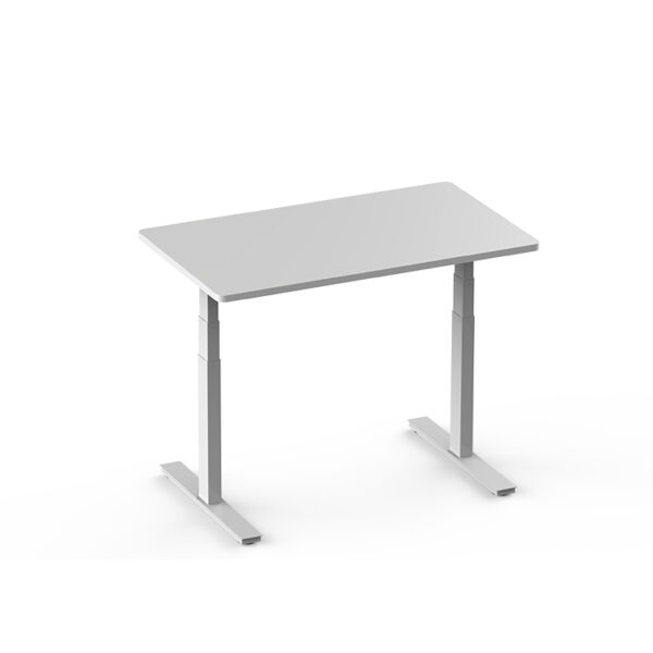 matrix electric straight desk