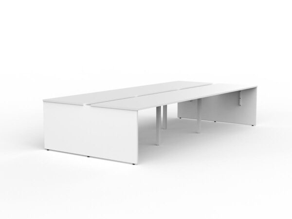 EkoSystem Shared 6-User Workspace – White