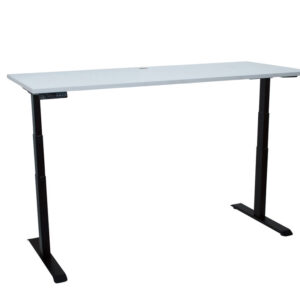 matrix straight desk black