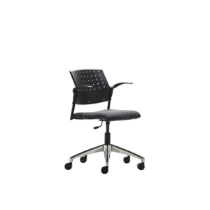 Advanta-TEMPO-swivel-chair-Upholstered-Seat-Arms-Aluminium-Base-1