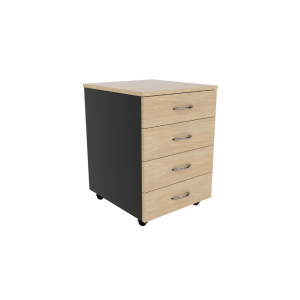 Momentum Mobile Drawers 4_oak graphite